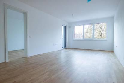 Neuwertige 2-Zimmer-Wohnung mit Loggia und Tiefgarage im Stadtteil Gnigl