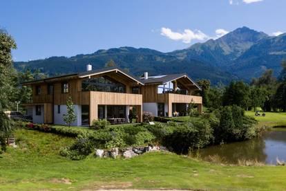 Zell am See: Hochwertige Doppelhaushälfte mit Bergblick