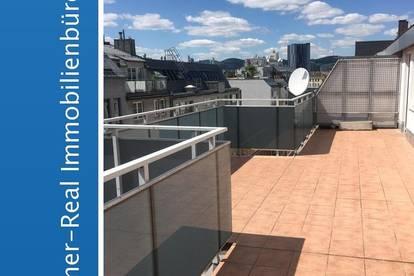 Großzügige Dachterrassenwohnung ohne Dachschrägen im 20. Bezirk
