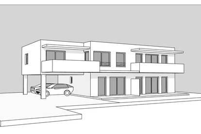 Neubau-Mietwohnung mit ca. 61m² - Nähe Silbersee