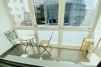 City Wohnung mit Balkon zwischen Schwedenplatz und Schottenring!