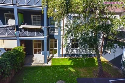 Nette 3 Zimmer-Wohnung mit Terrasse und Garten