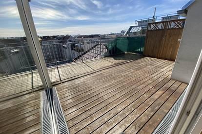 Gebrauchte DG- Wohnung Großzügige Terrasse