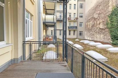 im Herzen von Margareten, großzügige Loft-Wohnung mit Balkon! Hofruhelage