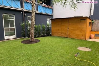 Nette 3 Zimmer-Wohnung mit Terrasse und Garten und Stellplatz