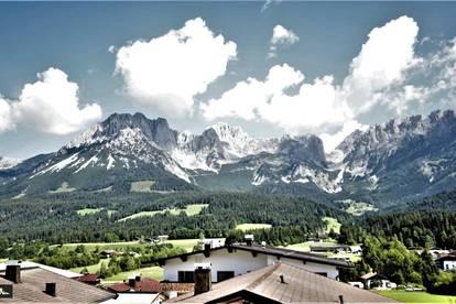 ELLMAU - Eigentumswohnung - 4 Zimmer - 3 Balkone - Berg - und Natur-Blick