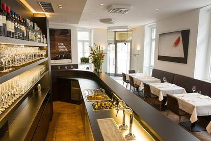Voll ausgestattetes Lokal in vielversprechender Lage für innovative Gastronomiekonzepte, OHNE PROVISION