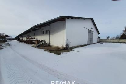 Halle für Lager und Freiflächen
