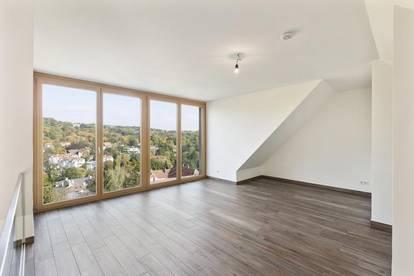 4 Zimmer Dachgeschoß-Maisonette mit Ausblick ins Grüne