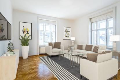 4 Zimmer-Wohnung nahe dem Neuen Platz - unmöbliert