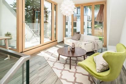 3 Zimmer Dachgeschoß-Maisonette mit herrlichem Fernblick - unmöbliert