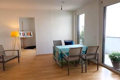 NEUE 3 Zimmer Wohnung mit Loggia im 2ten  Stock!  Ruhige Hoflage!