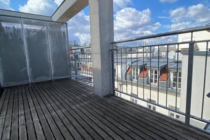 Ruhige DG-Maisonette mit Terrasse und Galerie über den Dächern von Wien