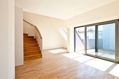 Ruhige DG-Maisonette mit Terrasse und Galerie, Nähe U3 Ottakring