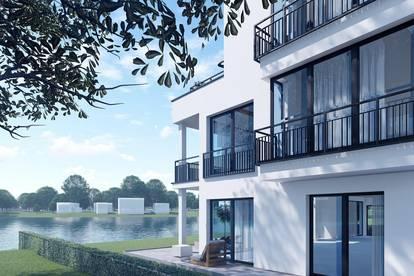 Seepark Kittsee - Moderne Eigentumswohnung mit Gartenanteil und direktem Seezugang