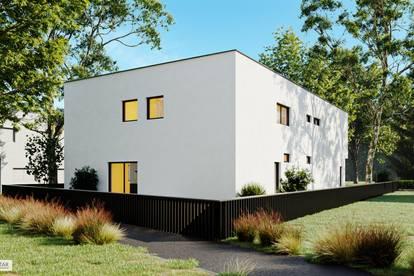 (PRIVATER SEE IN PARNDORF)+EINZIGARTIG+ Perfekt aufgeteilte 4-Zimmer Doppelhaushälfte am privaten Badesee!! (belagsfertig)
