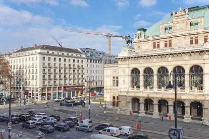 Premium-Sichtlage: Geschäfts-/Bürofläche neben Wiener Staatsoper