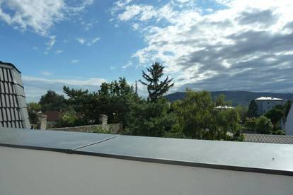 Sonnige Terrassen-Wohnung mit Ausblick