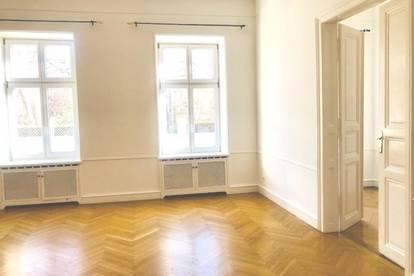 1090 Nahe Lycee! Charmante 3,5 Zimmer-Altbauwohnung mit Hofterrasse ! UNBEFRISTET!