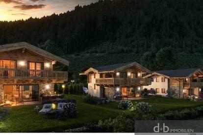 Wohnen mit Weitblick, Doppelhaushälfte in Leogang