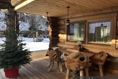 Exklusives Holzhaus am Stadtrand von Saalfelden