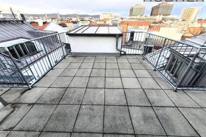 Alser Straße: Dachterrassen-Wohnung mit fantastischem Fernblick!!!