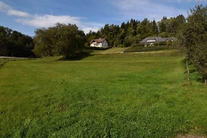 Sonnige Baugründe nähe Pitzelstätten 862m²