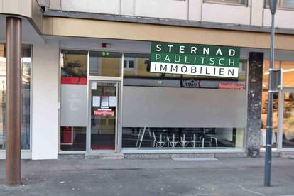 Modernes Geschäftslokal in der Klagenfurter Innenstadt