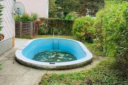 VERKAUF! 3 Zimmer Wohnung mit 200m² Garten und Pool in der Stiftingtalstraße!