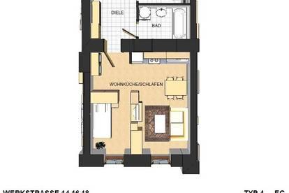 Werkstraße / Schöne sanierte Kleinwohnung zu vermieten!