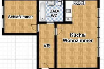 NEU 360° Tour! TOLLE 2 ZIMMER WOHNUNG IN DER LEITNERGASSE!