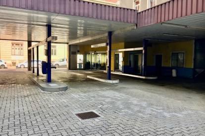 Roseggerstraße 16 / Werkstätte/Taxizentrale/Autowaschplatz/Halle samt Büro zur sofortigen Vermietung!