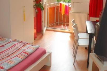 Gemütliche Garconniere mit separatem Küchenbereich und Balkon nächst Universität und LKH.