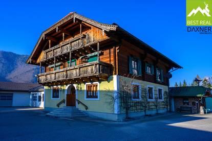 Großzügiger, ehemaliger Handwerksbetrieb samt traditionellem Wohnhaus in Ebensee am Traunsee!