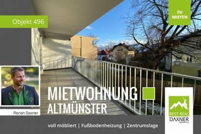 Moderne Mietwohnung mit Vollausstattung im Zentrum von Altmünster!