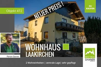 Gepflegtes Wohnhaus mit zwei getrennten Wohneinheiten in Laakirchen/Steyrermühl!!