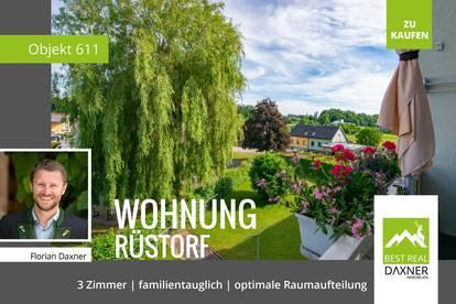 Familientaugliche Eigentumswohnung in Rüstorf!