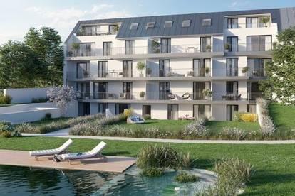 Provisionsfrei - Ruhige 2 Zimmer-DG-Wohnung mit großen Terrassen