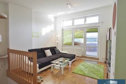 2-ETAGEN-WOHNUNG mit einem Kinderzimmer