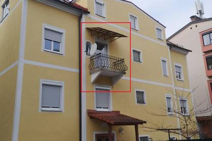 Zentrale 2-Zimmer-Wohnung mit ruhigen Innenhof-Balkon(5281)
