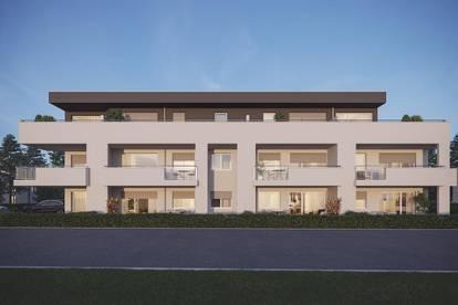 Gartenwohnung / 15 m² Balkon nach Westen, teilweise überdacht / 23 m² Eigengarten / 1 Schlafzi / Erstbezug