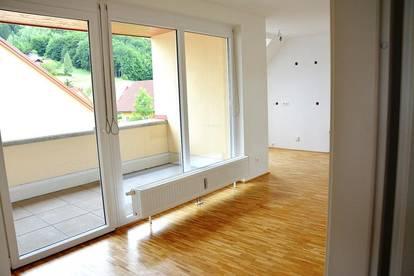 PROVISIONSFREI! Helle moderne Dachgeschoßwohnung mit Terrasse + Carport! Sofort verfügbar!