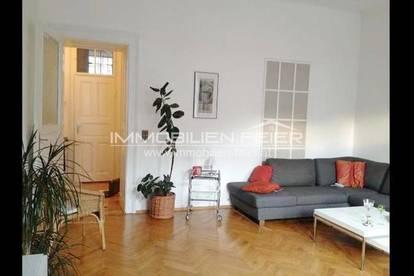 4-Zimmer-Altbau-Wohnung in ruhiger Umgebung mit West-Terrasse!