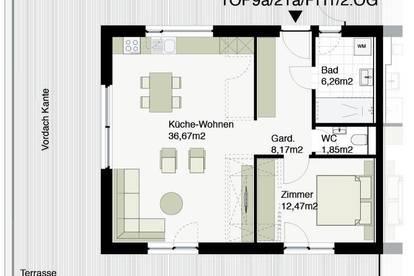 Provisionsfrei! Barrierefreie Penthousewohnung mit 60m² Dachterrasse!