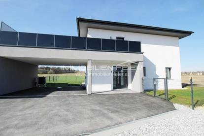 Erstbezug! Ziegelmassiv! Modernes Wohnhaus mit großer Terrassenfläche!