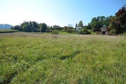 Baugrundstück im ländlichen Siedlungsgebiet rund um Burg Hochosterwitz