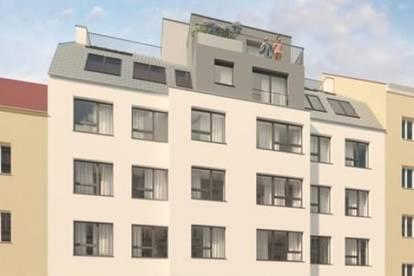 Fertigstellung 2022: 2 Zimmer Erstbezugswohnung mit 60,15m² Wohnfläche plus Loggia, Terrasse und Garten