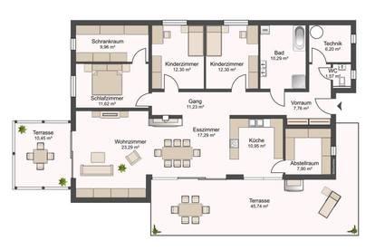 Bungalow - Stilvolles Wohnen