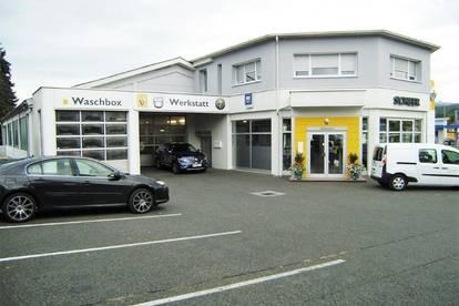 Autohaus mit Werkstätte im Top Zustand
