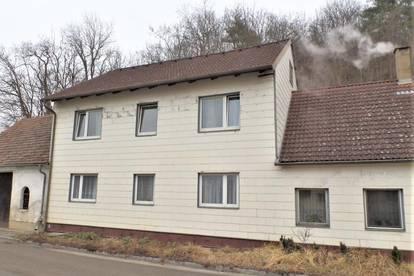 Zweifamilienhaus in der Gemeinde Sitzenberg-Reidling zu kaufen - renovierungsbedürftig